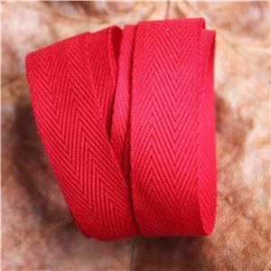 Twill Tape - Red