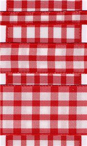 Country Check - Red/White