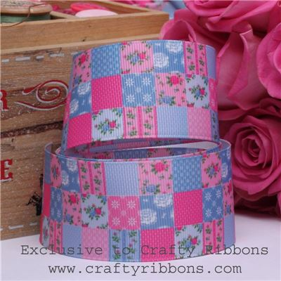 Patchwork Rose Ribbon - Patchwork