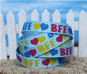 Summer Holiday Ribbon - Best Friends Forever