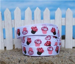 Summer Holiday Ribbon - Cupcake