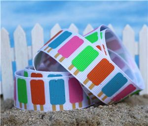 Summer Holiday Ribbon - Double Lollie