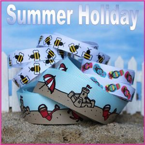 summer holiday ribbon