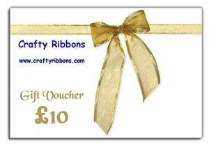 Crafty Ribbon Gift Voucher - £10