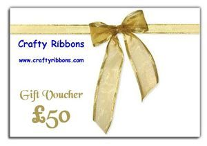 Crafty Ribbon Gift Voucher - £50