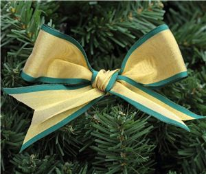 Gold Ribbon - Gold/Green Edge