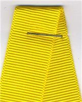 16mm Grosgrain Ribbon - Yellow