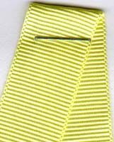 16mm Grosgrain Ribbon - Lemon