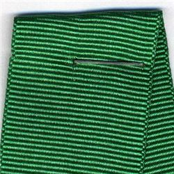 25mm Grosgrain Ribbon - Emerald