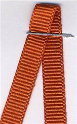 6mm Grosgrain Ribbon  - Rust