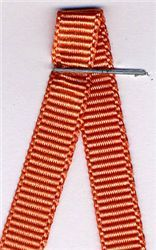 6mm Grosgrain Ribbon - Coral