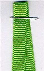 6mm Grosgrain Ribbon - Spring Green