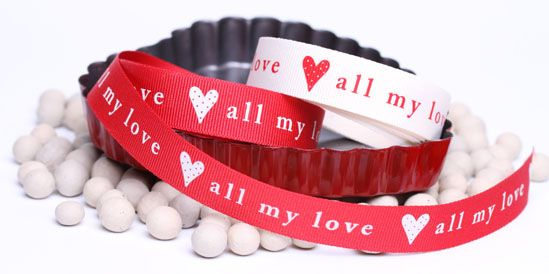 all my love grosgrain ribbon