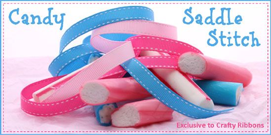 candy saddle stitch ribbon