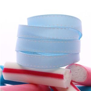 Candy Saddle Stitch - Lt Blue