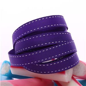 Candy Saddle Stitch - Regal Purple