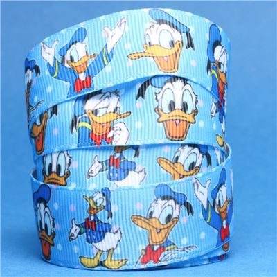 Donald Duck Ribbon - Blue
