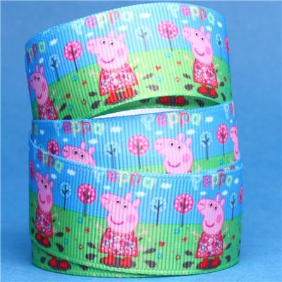 Peppa Pig Ribbon - Peppa in the Garden