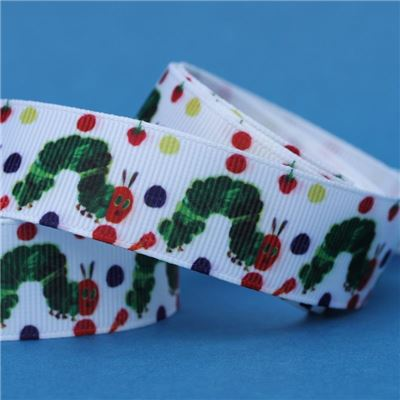 Hungry Caterpillar Ribbon - With Dots
