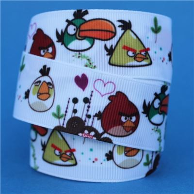 Angry Birds Ribbon - White