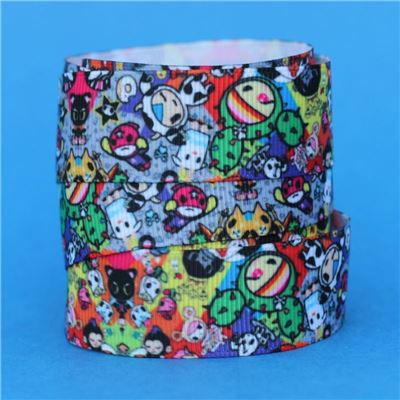 Cartoon Ribbon - Characters