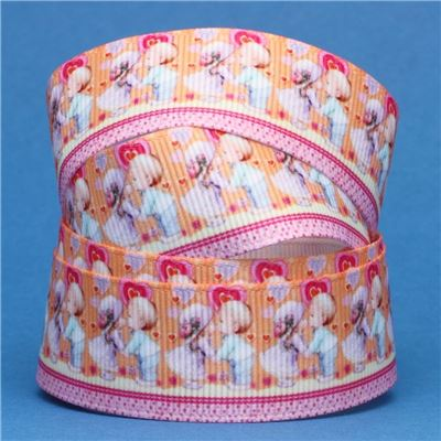 Sun Bonnet Sue Ribbon - Kissing