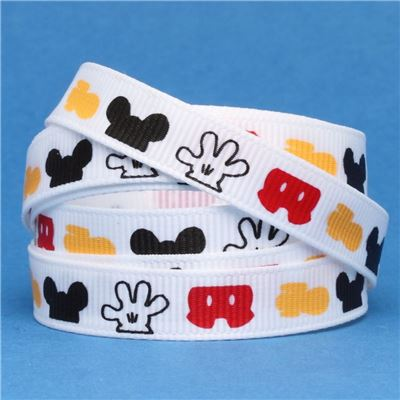 Mouse Head  Ribbon - Clothes