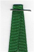 6mm Grosgrain Ribbon - Emerald
