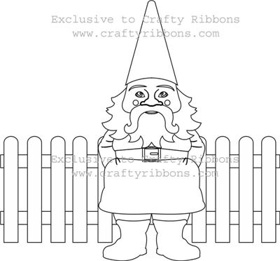 Gnome Digi - Set of colour your own Digis