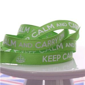 Keep Calm Ribbons - Frog Prince