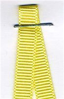 6mm Grosgrain Ribbon - Lemon