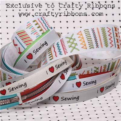 Love Sewing Ribbon - WANT IT ALL