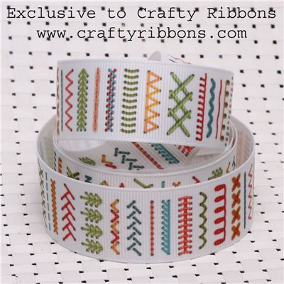 Love Sewing Ribbon - Stitching