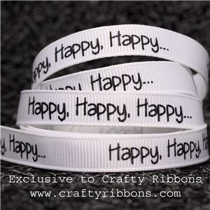 Music Ribbon - Happy, Happy, Happy