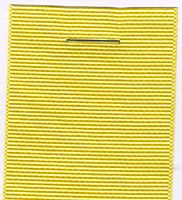 40mm Grosgrain Ribbon  - Lemon