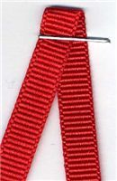 6mm Grosgrain Ribbon - Red