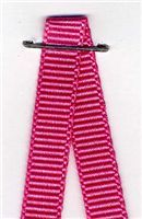 6mm Grosgrain Ribbon - Shocking Pink