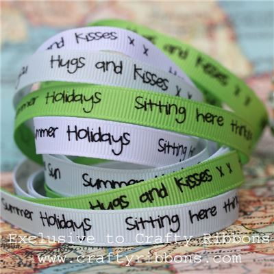 Summer Festival - Holiday Message Ribbon