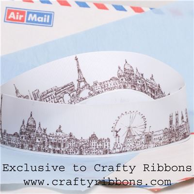 Travel Ribbon - Skyline