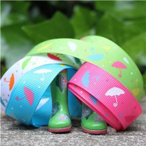 Umbrella Grosgrain Ribbon - WANT IT ALL