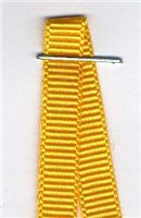 6mm Grosgrain Ribbon - Yellow