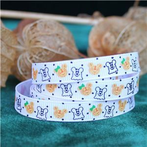 Halloween Ribbon - Ghosts & Pumpkins