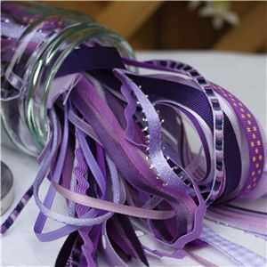 Jam Pot Ribbons - Blackcurrant