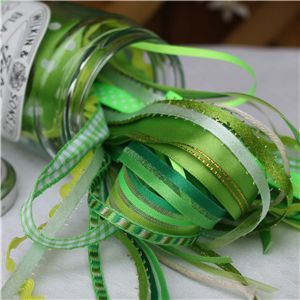 Jam Pot Ribbons - Gooseberry