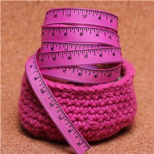 Knit Ribbons - Tape Measure Bloom