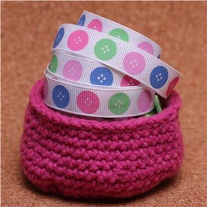 Knit Ribbons - Buttons