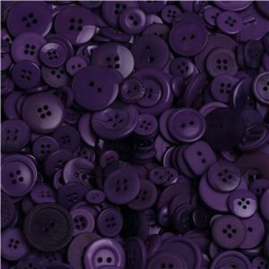 Sew Buttons - Assorted Grape
