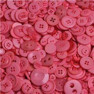 Sew Buttons - Assorted Peony