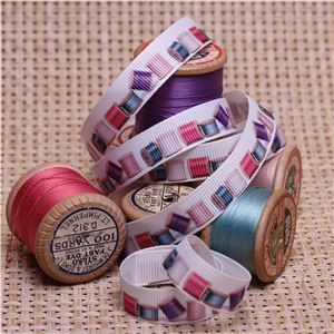 Sew Ribbons - 10mm Cotton Reels