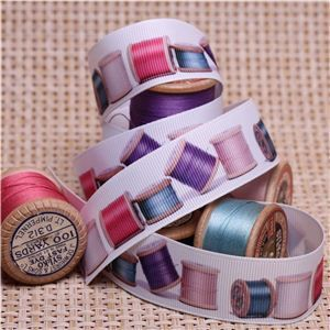 Sew Ribbons - 25mm Cotton Reels